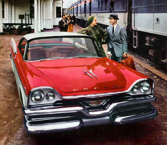 1957 Dodge Royal Lancer old car