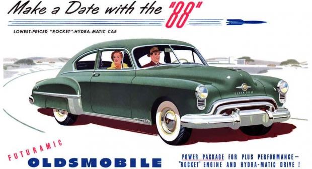 1949 Oldsmobile 88 old car