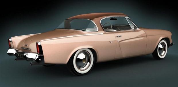 1953 Studebaker Commander old car