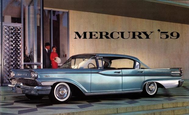 1959 Mercury Hardtop old car