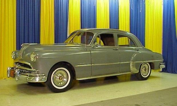 1949 Pontiac Four Door old car