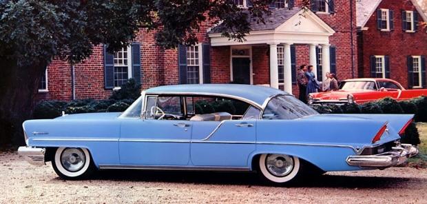1957 Lincoln Premiere Landau old car
