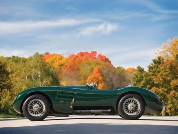 1951 Jaguar C-Type sports car
