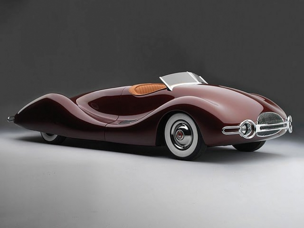 1948 Buick Streamliner old car