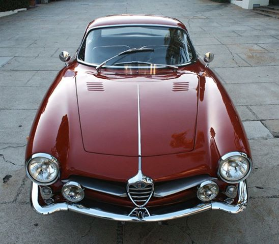 Alfa Romeo Giulia SS Sprint sports car