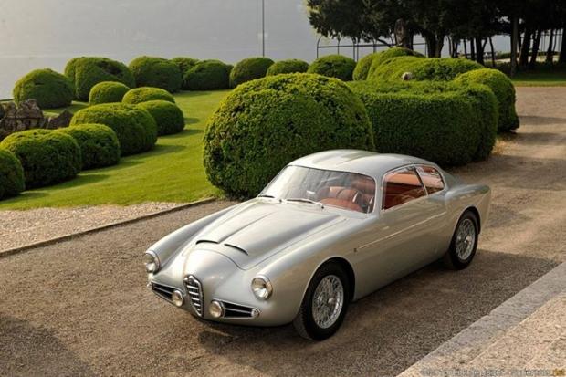 1954-58 Alfa Romeo 1900 Super Sprint Zagato Coupe