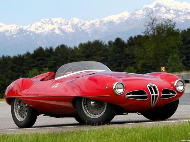 1952 Alfa Romeo 1900 C52 Disco Volante Spider concept car