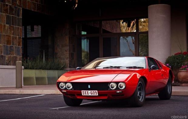 De Tomaso Mangusta sports car
