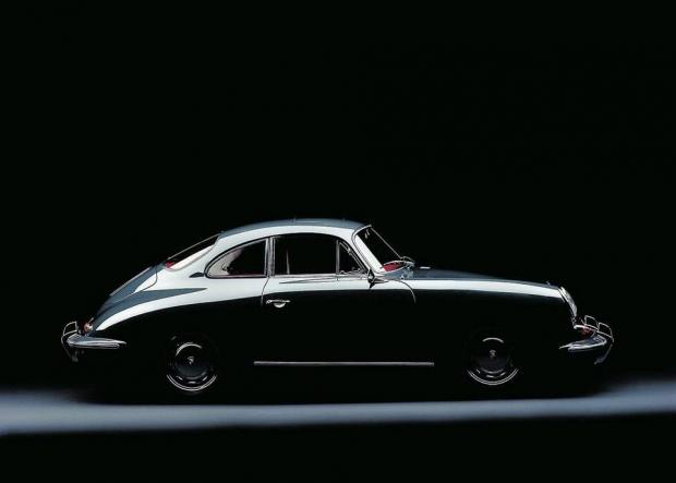 Porsche 356-2 sports car