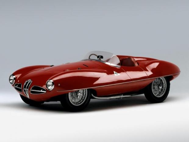 1952 Alfa Romeo 1900 C52 Disco Volante Spider (1359) sports car