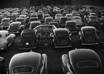 Drive-In Theater at San Fransisco 1948