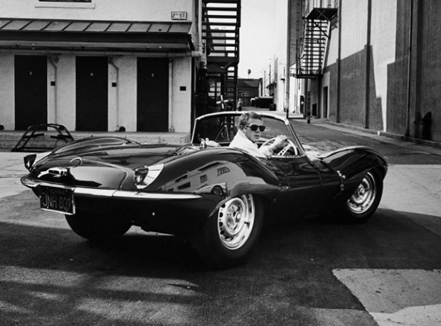 1957 Jaguar XKSS sports car