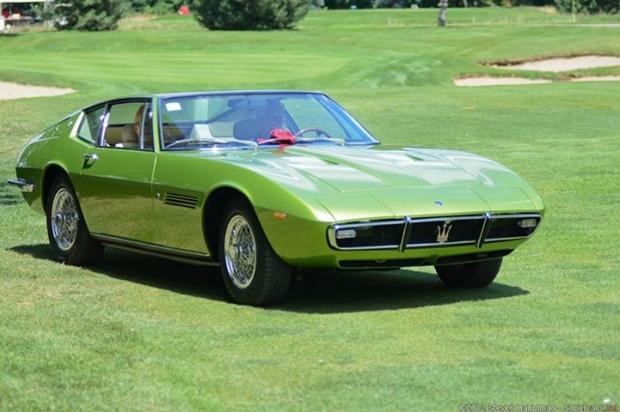 1969 Maserati Ghibli Coupe