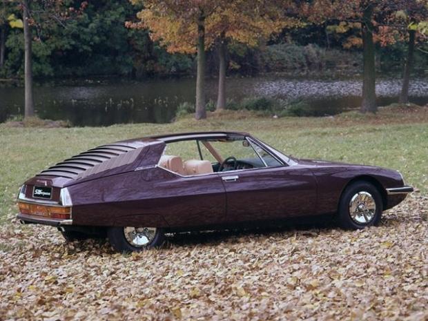 Citroen SM Espace old car