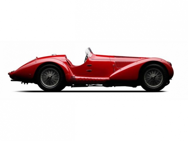 1938 Alfa Romeo 8C 2900 Mille Miglia Spider sports car