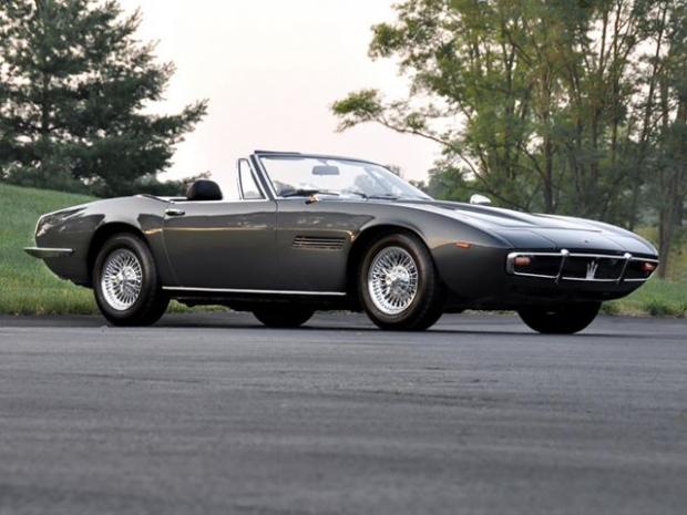 1969 Maserati Ghibli Spyder sports car