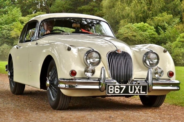 1959 Jaguar XK150 old car