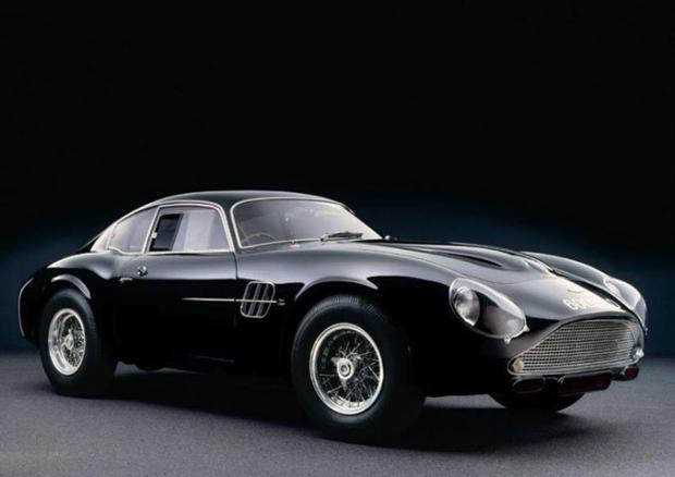1961 Aston Martin DB4 GT Zagato sports car