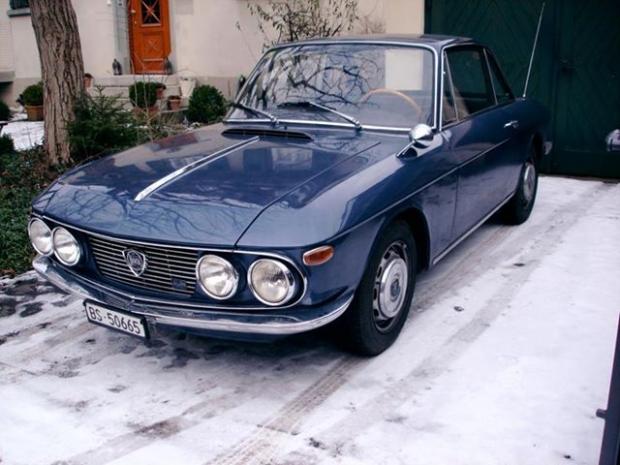 Lancia Fulvia 1.3 S sports car