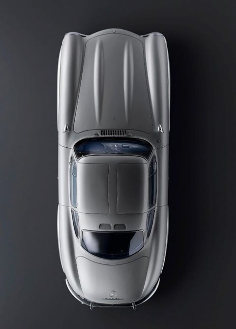 1954 Mercedes-Benz 300 SL sports car