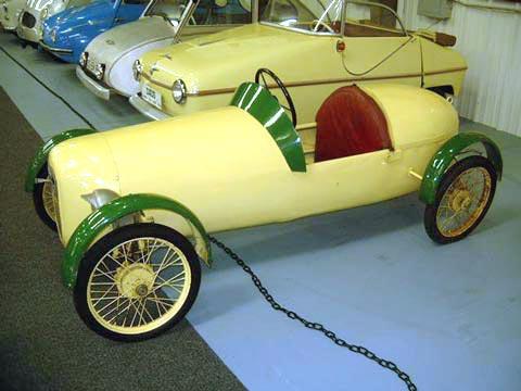 1954 Cuno Bistram microcar