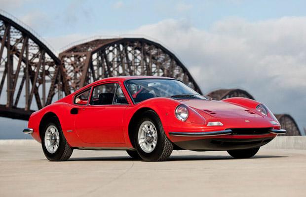 1968 Ferrari Dino 206 GT sports car