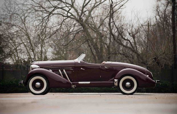 1936 Auburn Boattail Speedster, sports car