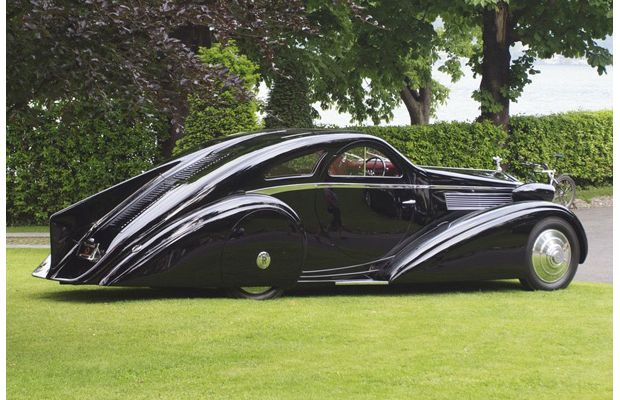 1925 Rolls-Royce Jonckheere Phantom I Round Door Coupé