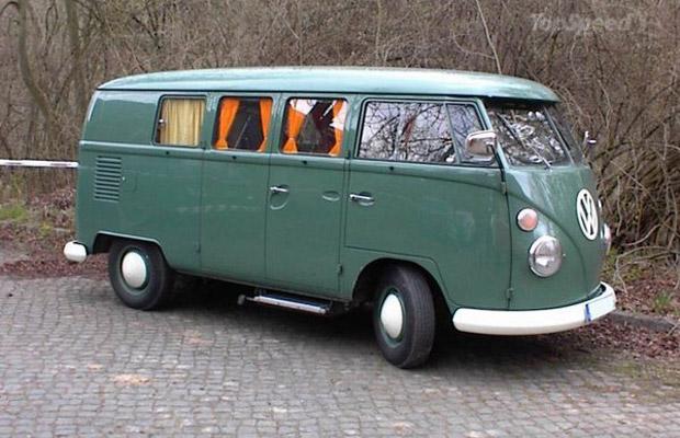 1950 Volkswagen Type 2 old car