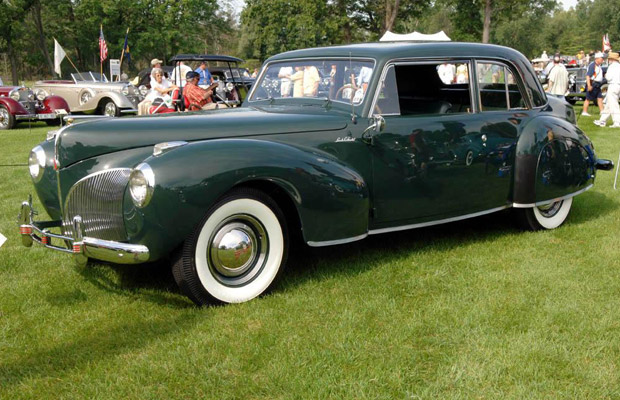 1941 Lincoln Continental old car