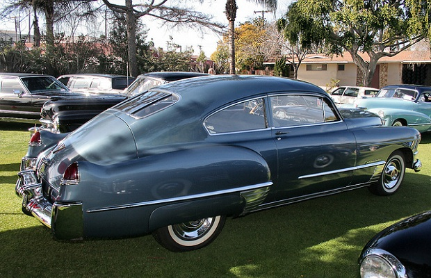 1948 Cadillac Series 61 Sedanette old car