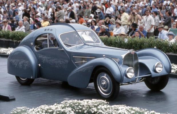 1936 Bugatti Type 57SC Atlantic sports car