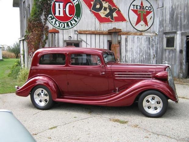 1935 Terraplane Custom old car