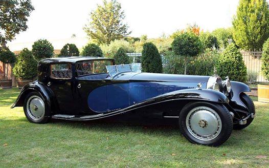 Royal Bugatti luxury old car