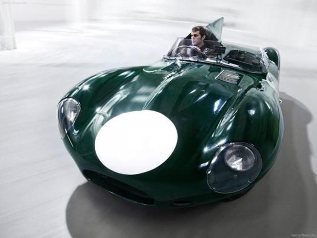 Jaguar D-Type sports car
