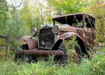 Rusty Pickup Truck