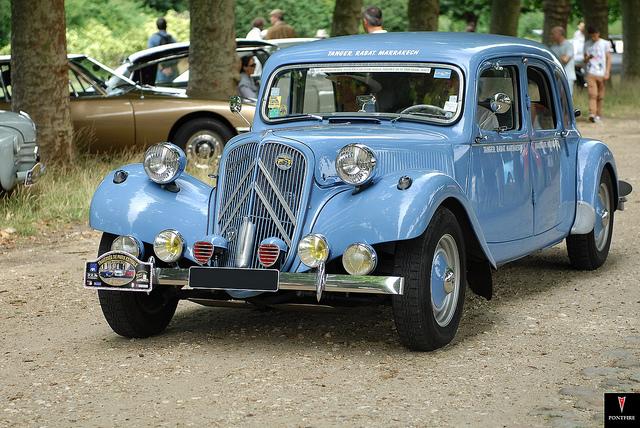 Citroen Traction AV, old car