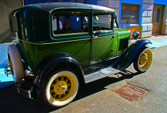 Ford 1930, old car