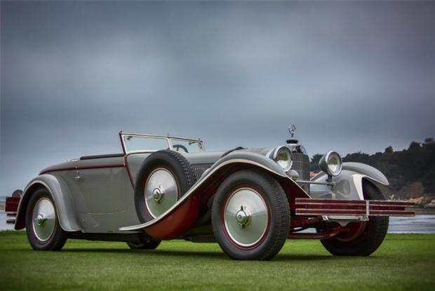 1928 Mercedes-Benz 680 S Saoutchik Torpedo old car