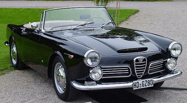 Alfa Romeo 2600 Touring convertible