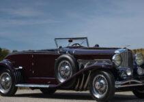 1935 Duesenberg Model SJ Convertible Coupe