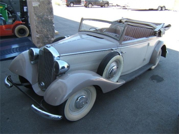 1938 Mercedes-Benz 230 convertible