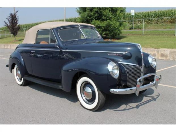 1940 Mercury Eight old car