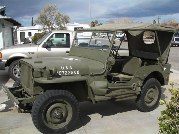 1945 Ford Military Jeep