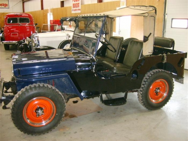 1946 Willys CJ2A old car