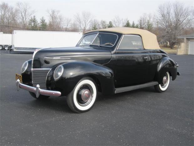 1939 Mercury Convertible