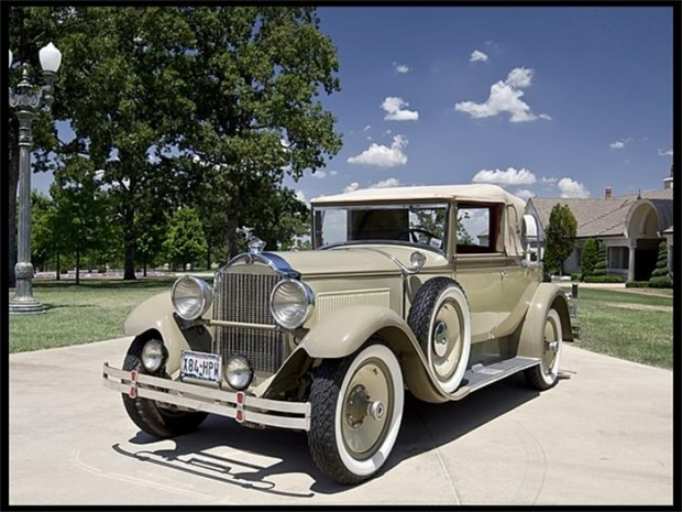 1929 Packard 626 old car