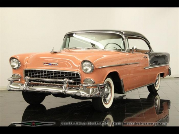 1955 Chevy Bel Air old car