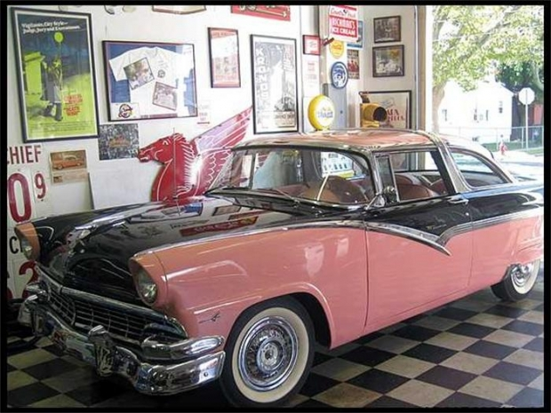 1956 Ford Crown Victoria old car