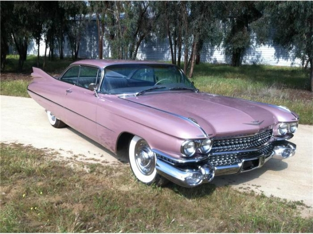 1959 Cadillac Coupe DeVille old car